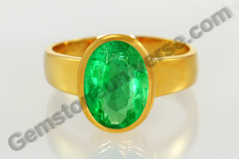 Natural Zambian Emerald of 2. 69 carats Gemstoneuniverse.com