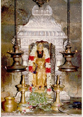 Shaneeshwara -  Lord Saturn at Thirunallar
