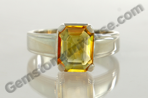Imperial Golden Yellow Topaz of 3.64 carats for Jupiter Energies