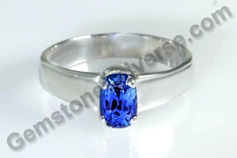 Natural Blue Sapphire of 2.15 carats Gemstoneuniverse