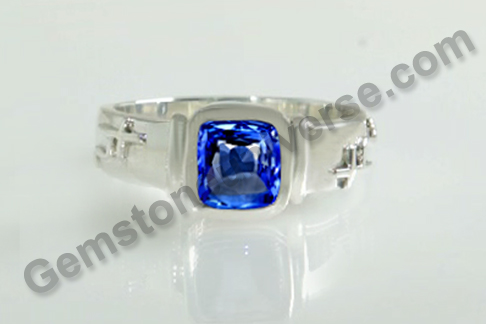 Natural Blue Sapphire of 2.39 carats Gemstoneuniverse