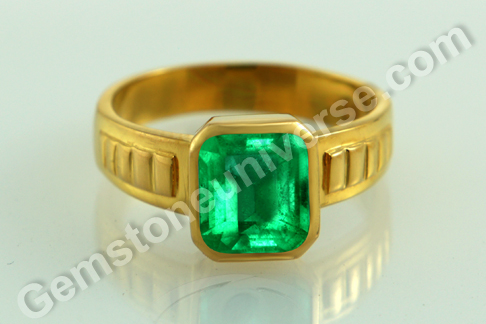 Natural Colombian Emerald of  2.18 carats Gemstoneuniverse.com