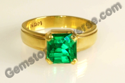 Natural Colombian Emerald of 2.21 carats Gemstoneuniverse.com