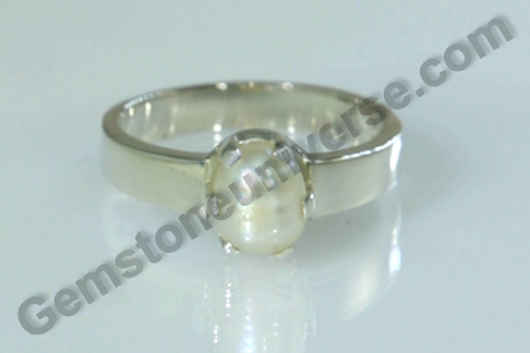 Natural Pearl of  2.45 Carats Gemstoneuniverse.com