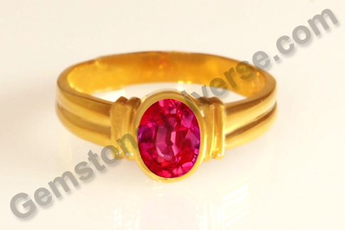 Natural Ruby of 1.37 Carats Gemstoneuniverse.com