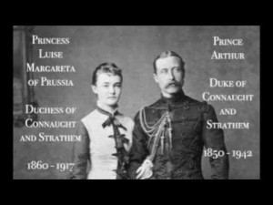 Princess Luise Margareta and Duke of Connaught