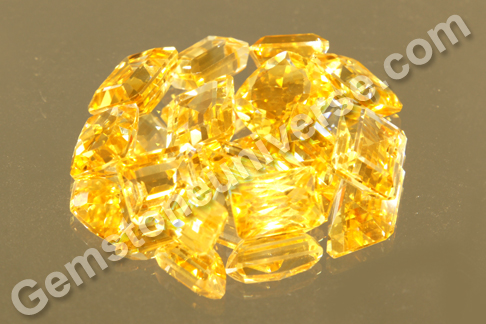 Regalia 2012 - New Lot of natural unheated Impreial Golden Yellow Topaz