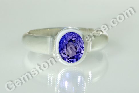 Natural Blue Sapphire - Indraneelam of 3.49 carats Gemstoneuniverse