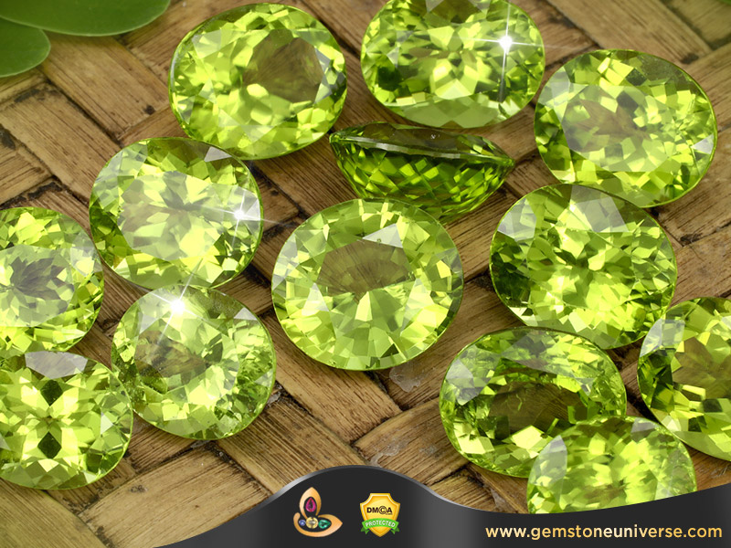 Natural Peridot Ring-Courtesy Gemstoneuniverse.com