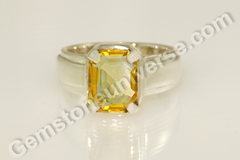Imperial Golden Yellow Topaz of 3.06 carats for Jupiter Vedic Energies