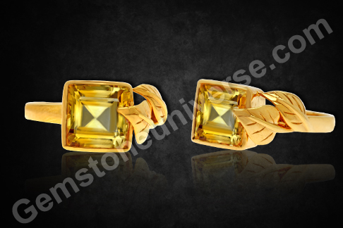 Imperial Golden Yellow Topaz of 3.63 carats for Jupiter Vedic Energies - Gemstoneuniverse.com