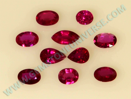 Aditya 2012 - New Lot of Natural Treatment free Mozambique Ruby