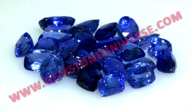Natural Ceylon Blue sapphire lot Vishwavijay 2012