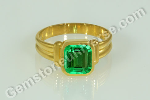 Natural Colombian Emerald of 1.81 carats Gemstoneuniverse.com