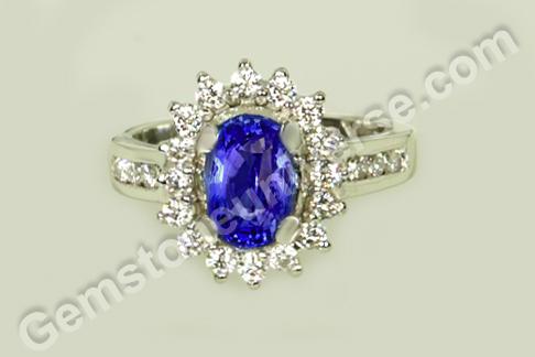 Natural Blue Sapphire of 2.49 carats Gemstoneuniverse
