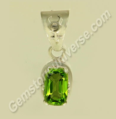 Natural Burma Peridot of 3.22carats Gemstoneuniverse.com