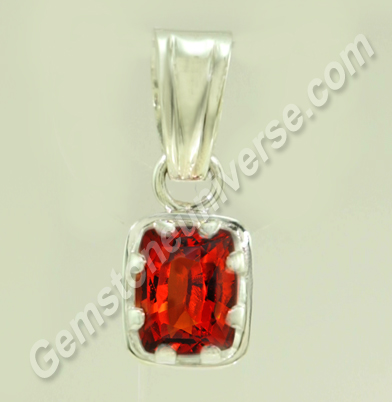 Natural Hessonite of 3.19 carats Gemstoneuniverse