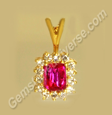 Natural Ruby of 1.54 Carats Gemstoneuniverse.com
