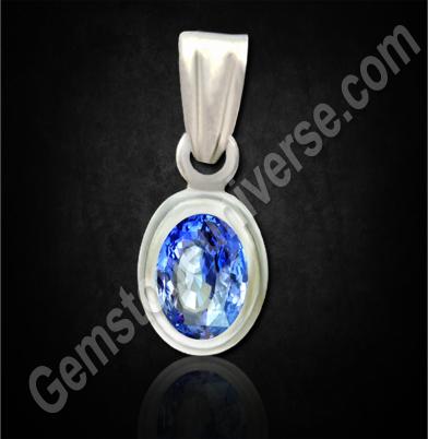 Natural Blue Sapphire of 3.55 carats Gemstoneuniverse