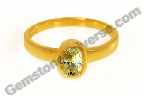 Natural Yellow Sapphire of 2.00 carats Gemstoneuniverse