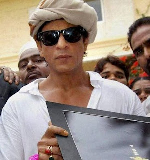 Shahrukh Khan and his Red Coral and Emerald rings