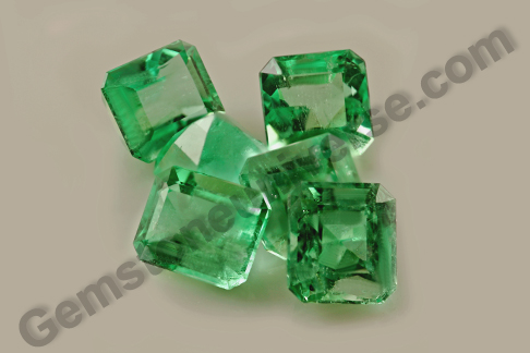 Natural Colombian Emerald Lot Juno
