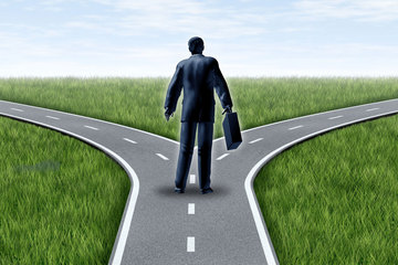 Making Choices At Cross Roads represents Free Will Arriving at a Cross Road represents destiny