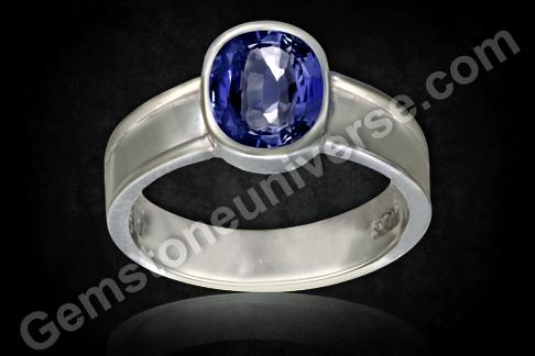 Natural Blue Sapphire of 2.41carats Gemstoneuniverse
