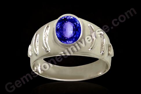 Natural Blue Sapphire of 2.75carats Gemstoneuniverse