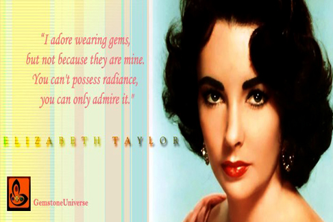 The legendary Elizabeth Taylor aptly put it in words when she spoke about radiance