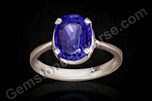 Natural Unheated Ceylon Blue Sapphire