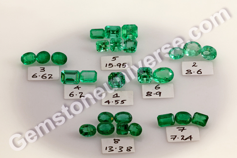 Kamakhya - New lot of Emeralds