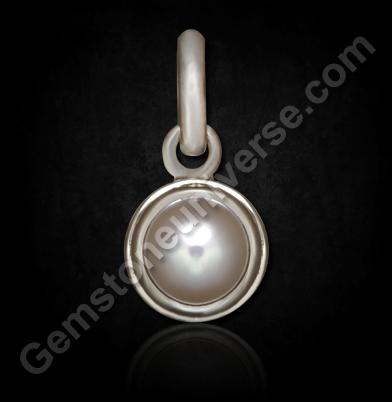 Natural Australian Pearl silver pendan