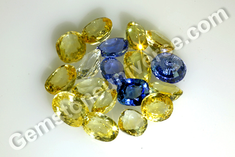 Premium Sapphire Color for Top Jyotish Sapphire Ring New Lot Medha