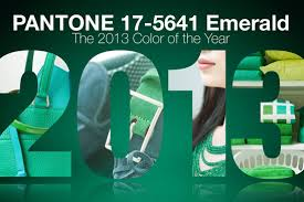 Emerald is the Pantone Color of the Year