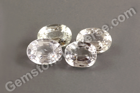 New lot of Natural White Sapphires
