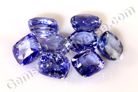 JATIN Natural Untreated Blue Sapphire Lot