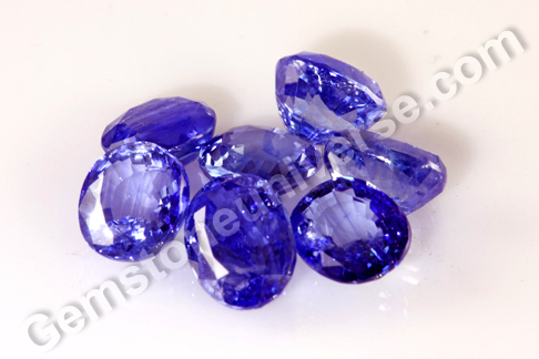 SAVAR Lustrous Blue Sapphires with Intense Color