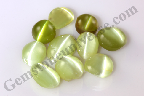 Cats Eye Chrysoberyl Loose Gemstones New Lot Akshara