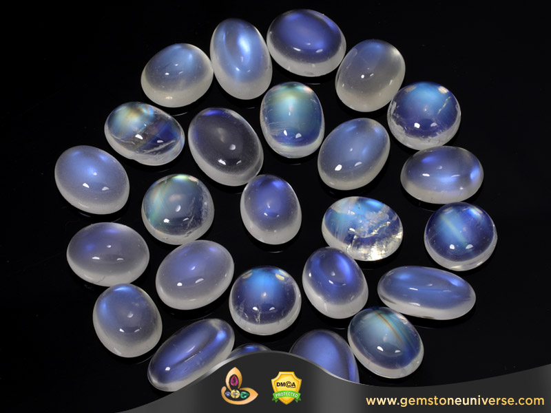 Blue Moonstone Loose Gemstones New Lot Manuh