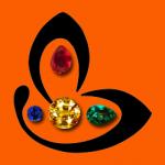 Gemstoneuniverse Logo In Golden Ratio