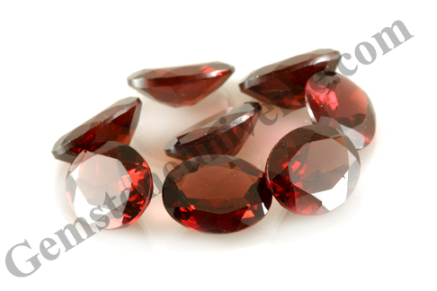 Premium Natural Mozambique Red Garnet Lot Name Agni