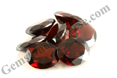 Red Garnet Alternative Gemstone to Ruby Lot Name Sutra