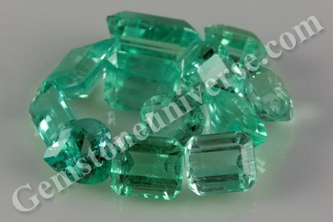 Amish Super Premium Range of Colombian Emeralds