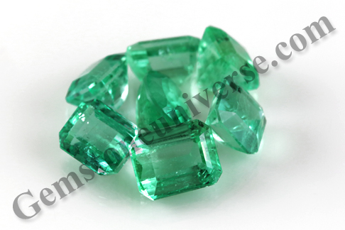 Aura Splendid Colombian Emeralds Each one handpicked with care for maximum efficiency