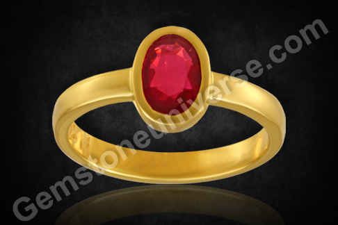 Natural Unheated Ruby Gemstone from Mozambique