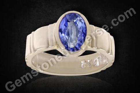 Sri Lankan Blue Sapphire unheated and untreated