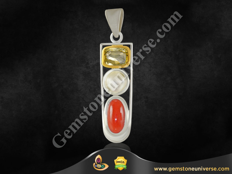 This Pendant is a good option for those who do not want to wear too many finger rings