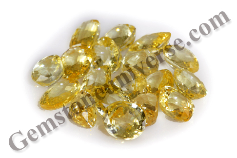 ARTHA Auspcious Wealth Ceylon Yellow Sapphires