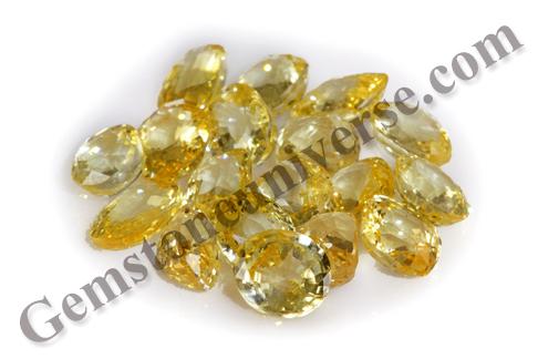 ARTHA Auspcious Wealth Ceylon Yellow Sapphires